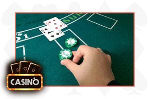 blackjack raddoppio