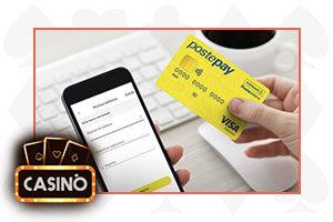 casino postepay pin