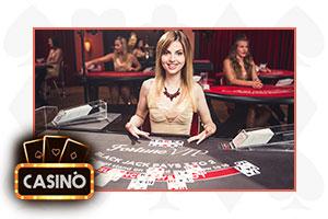 blackjack croupier attraente