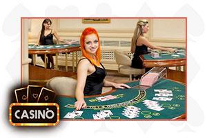 blackjack croupier del vivo