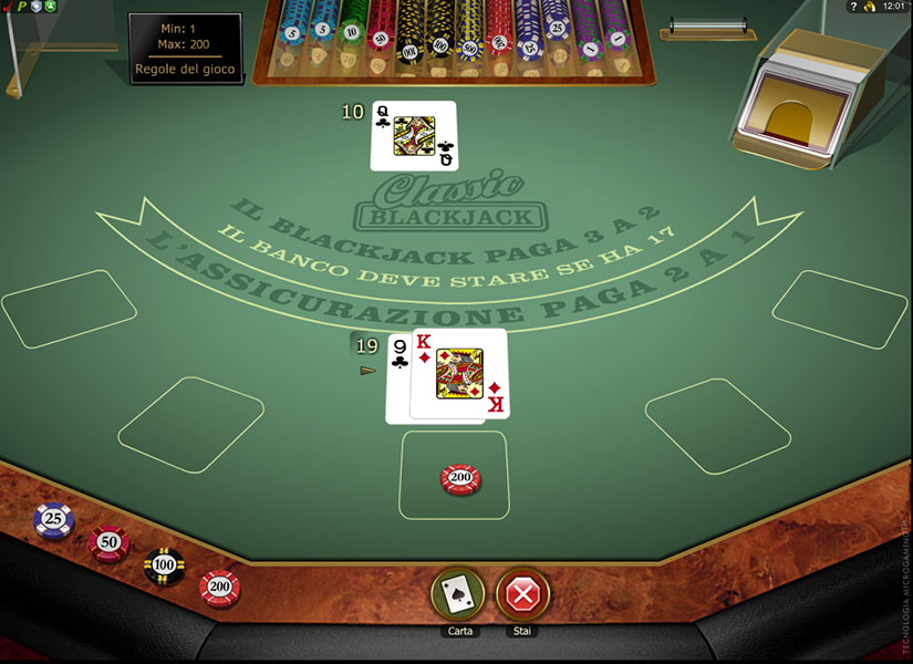 blackjack o 21