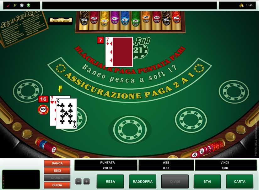blackjack super fun