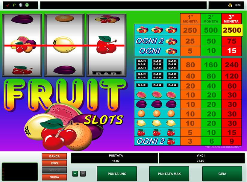 classic fruit slots