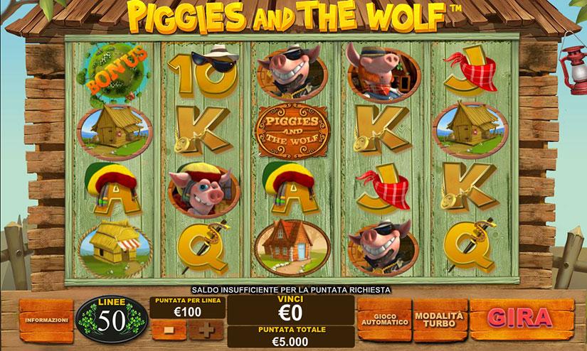 multi linea piggies and the wolf