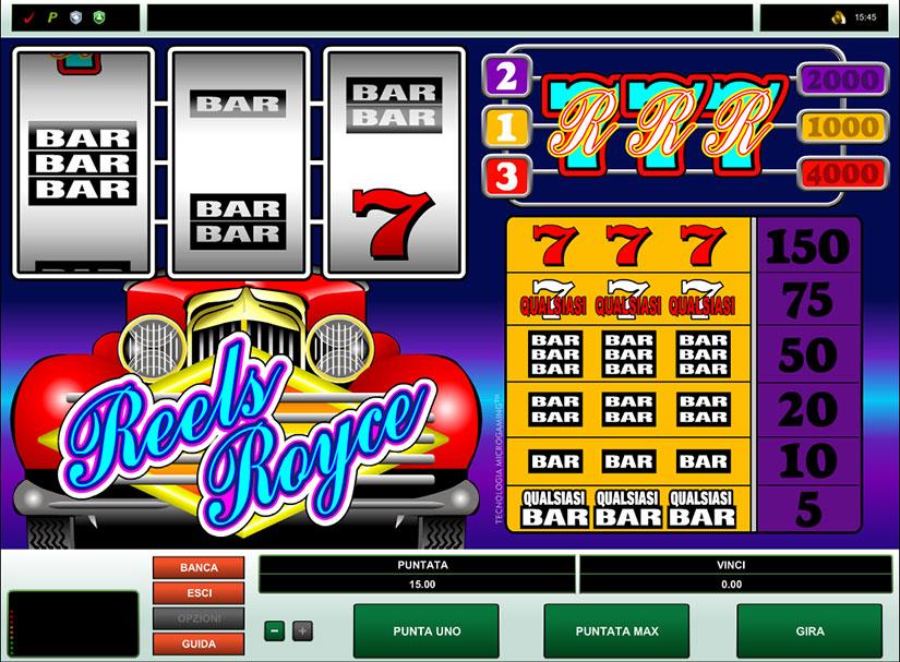 classic slots bar