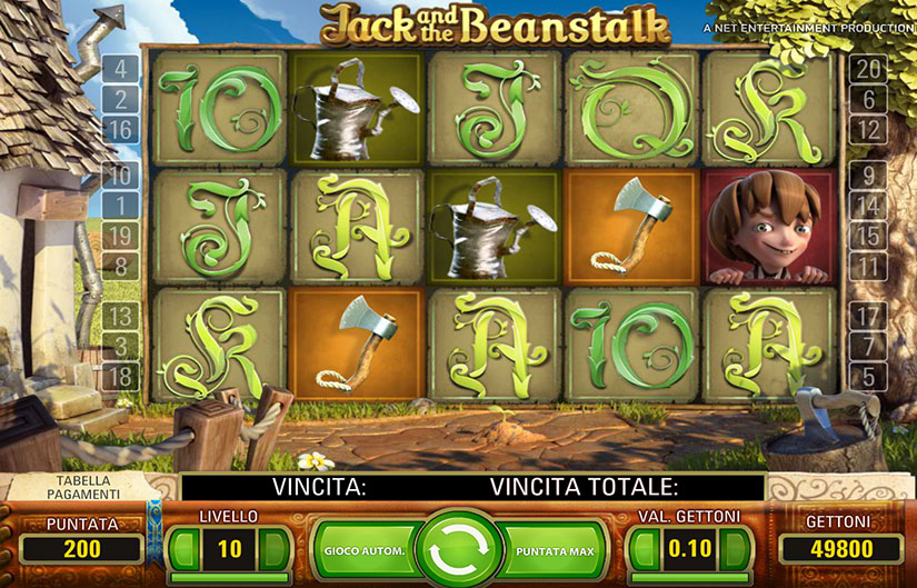 video slot jack and the beanstalk