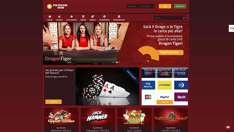 Casino Merkur Bonus