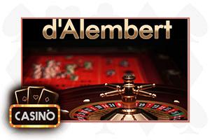 Il sistema D'Alambert per la roulette